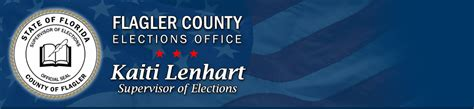 Flagler County Property Records Official Flagler County Supervisor Of Elections