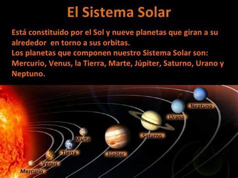 Resumen Q Es by Qu 233 Es El Sistema Solar Y C 243 Mo Est 225 Formado Resumen