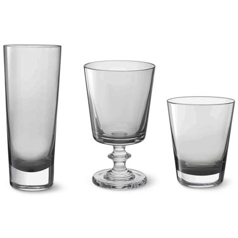 Williams Sonoma Barware Williams Sonoma Smoke Glassware Collection Williams Sonoma