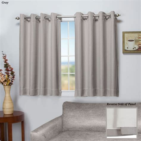 curtains short worthington blackout short grommet curtain panel