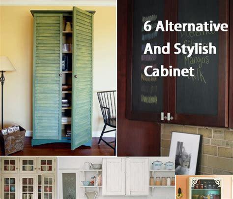 Alternative Kitchen Cabinet Ideas by 6 Alternative And Stylish Cabinet Doors