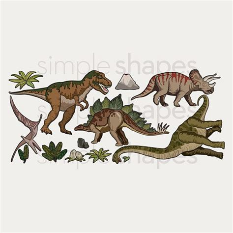 peel and stick wall stickers dinosaurs peel and stick wall sticker