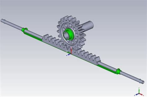 Rack And Pinion Cad Model by 301 Moved Permanently