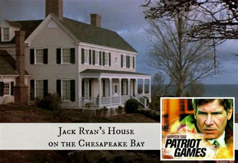 the patriot house harrison ford s country house in patriot games