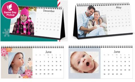 Calendar Coupon Walgreens 2 99 Reg 10 Personalized Desktop Calendar At Walgreens