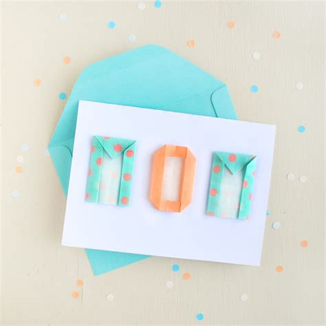 S Day Origami - mother s day card with origami letters zakka