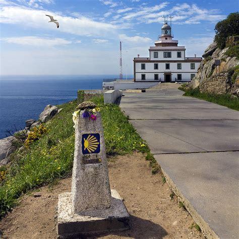 camino finisterre camino de santiago stages pilgrimage routes map pilgrim