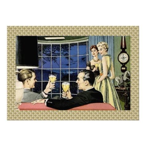 vintage cocktail party illustration 1950s cocktail party www imgkid com the image kid has it