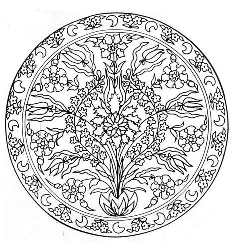 printable turkey mandala to print this free coloring page 171 coloring mandala flowers