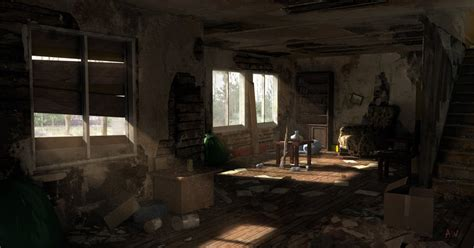 apocalypse room unity 5 post apocalyptic house interior polycount