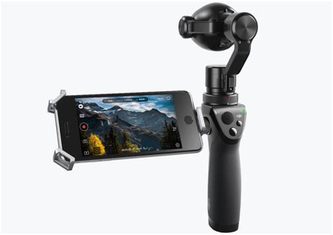 Dji Osmo Plus dji launches iphone compatible osmo handheld gimbal with up to 7x zoom mac rumors