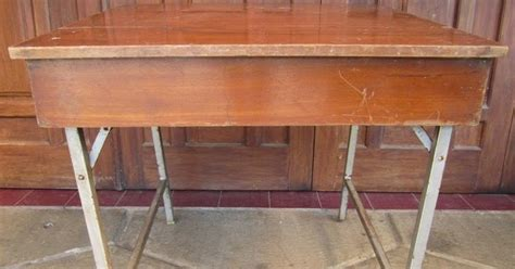 Kursi Meja Besi Vintage gudangvintage gdang vintage meja makan jati kecil dan kursi besi vintage sold out