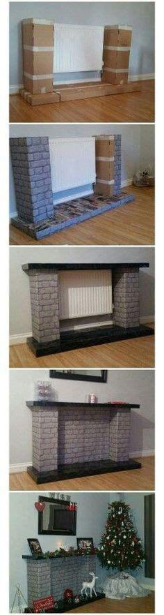 Selber Bauen 5583 by Kamin Steinoptik Pappkartons Livingroom Inspiration