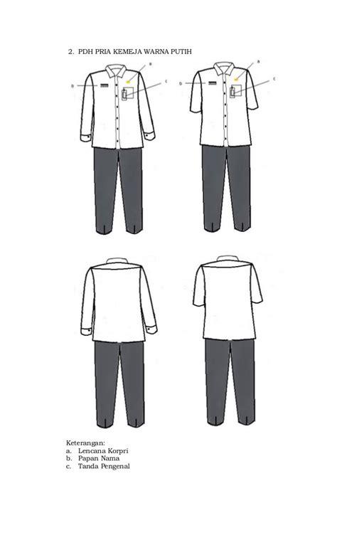 Baju Korpri Wanita M permen no 6 th 2016 pakaian dinas