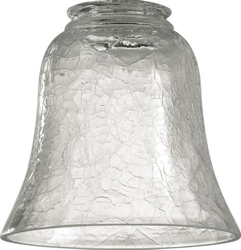 Modern Clear Glass Shades And Quorum 2807 2 25 Quot Clear Crackle Glass Contemporary