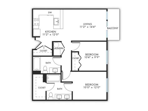 lift floor plan 2 bed 2 bath apartment in oklahoma city ok lift