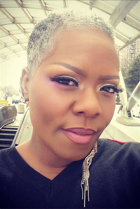 grey public hair pics beautiful black woman with gray hair essence com