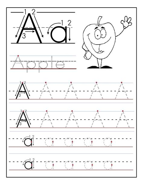 printable worksheets for kindergarten alphabet kindergarten alphabet tracing worksheets fun loving