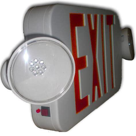 exit emergency light combo siltron mpxl 2h mini series plastic led exit emergency