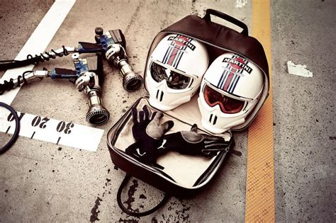 dom design helmet luxury f1 crash helmet case by dom reilly with williams