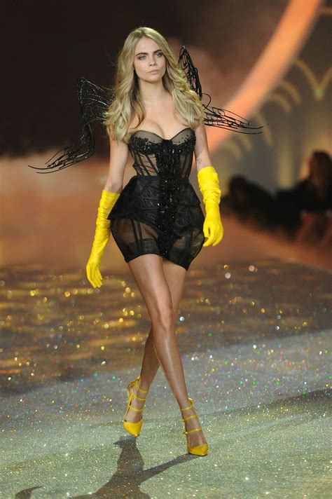 s runway secret cara delevingne victorias secret fashion show runway