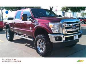Bronze Ford 2015 Ford F250 Duty Lariat Crew Cab 4x4 In Bronze