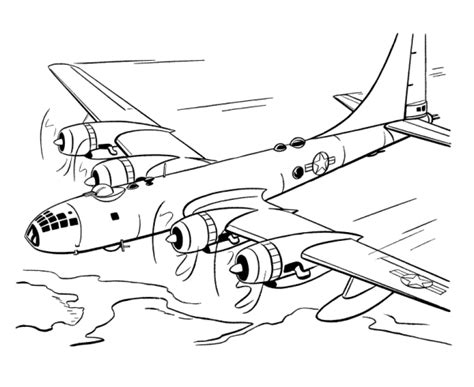 B 17 Sketches by B 17 Plane Coloring Pages Coloring Pages