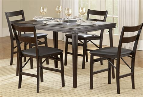 gift home today folding table and chairs for casual dining