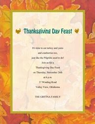 Fall Thanksgiving Free Suggested Wording By Holiday Geographics Thanksgiving Invitation Template Word