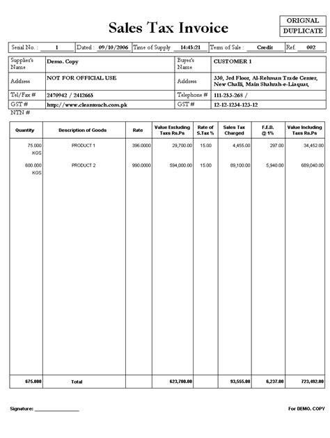 sle invoice register cleantouch general production system