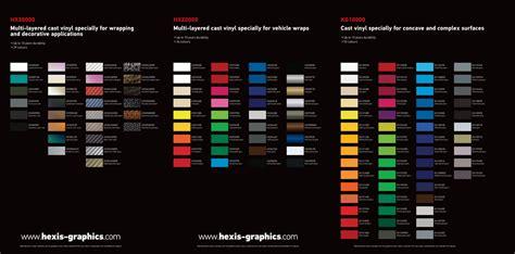 3m wrap colors hexis vinyl and 3m wrap colors