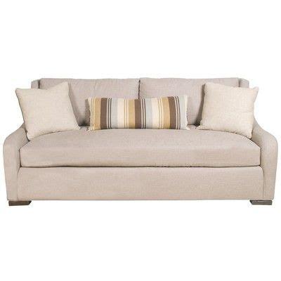 barkley one cushion sofa with kidney pillow barkley