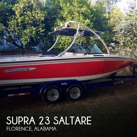 supra boats for sale in alabama for sale used 1995 supra 23 saltare in florence alabama
