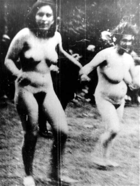 Jewish Women Forced To Strip