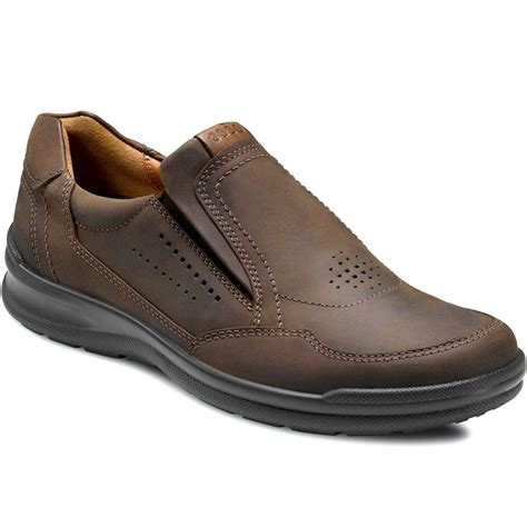 slip on shoes ecco mens slip on casual shoes charles clinkard