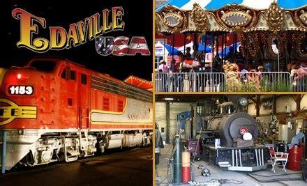 theme park groupon 10 ticket to amusement park edaville usa amusement park