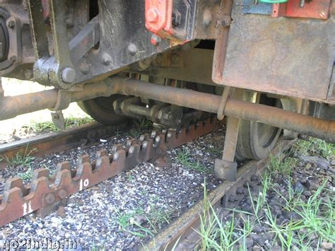 Rack And Pinion Railway by Go2india In Rack And Pinion Arrangements Of Ooty