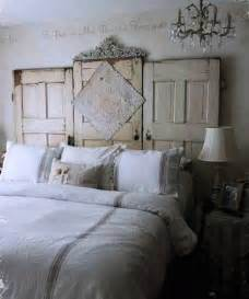 ideas for bed headboards unique vintage furniture recycling wood doors 30 modern ideas