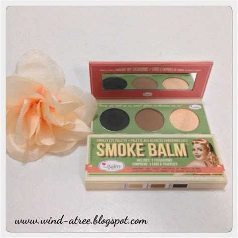 3 Eyeshadow 4 Warna 3 Eyeshadow Mini 4 Colour review the balm smoke balm eye shadow and