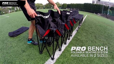 bench sports watch pro bench the ultimate folding sports bench youtube
