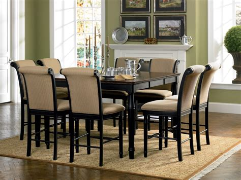 coaster furniture 101828 101829 cabrillo dining table set with leaf