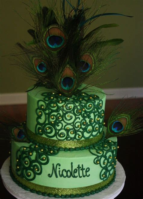 peacock cakes decoration ideas  birthday cakes