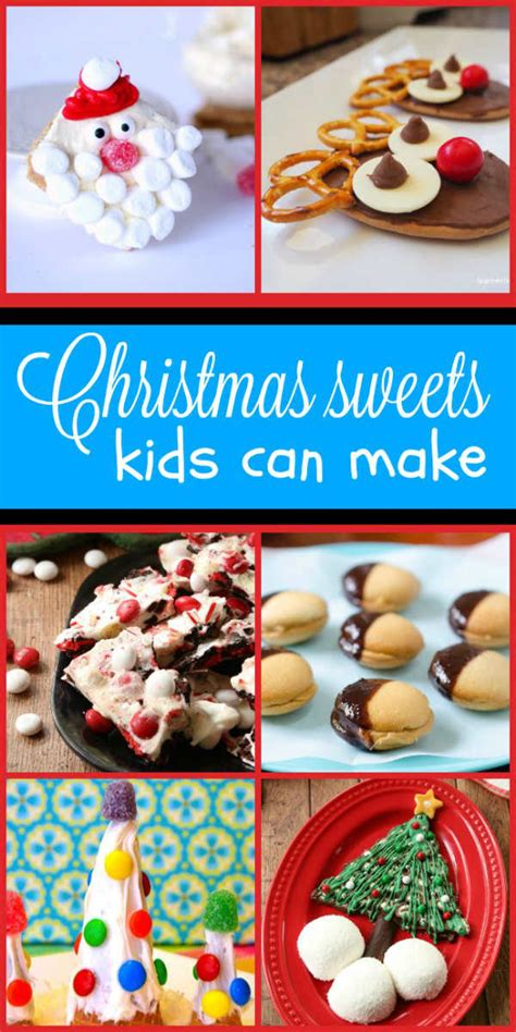 simple no bake christmas sweets kids can make happy