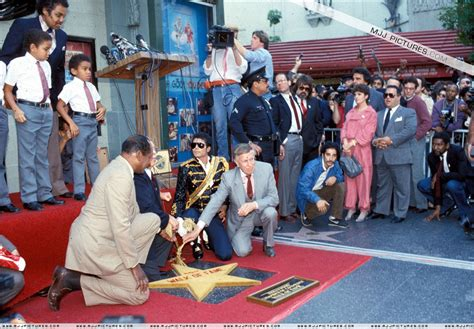 Michael Jackson at the Hollywood Walk of Fame 1984 - YouTube Hollywood Walk Of Fame Stars Michael Jackson