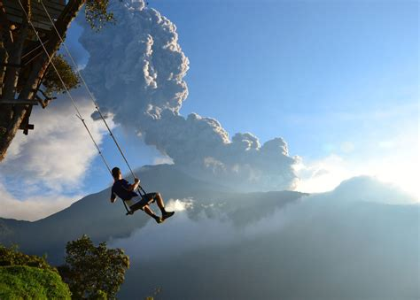 swing in ecuador the wildest swing in your in ecuador places to see