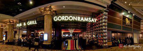 inside gordon ramsays new las vegas restaurant inside gordon ramsay s pub and grill does his new