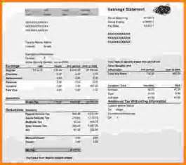 adp pay stub template free 6 adp check stub template cashier resume