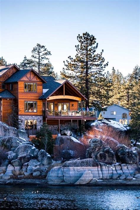 lake houses in california lake house big bear california favorite places spaces pintere