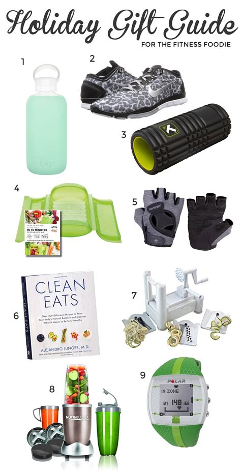 holiday gift guide for fitness foodies beauty buffs