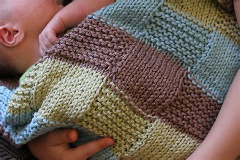 knitting pattern squares ravelry stripe the squares baby by jennee garcia